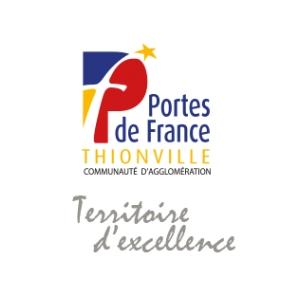 Communauté d'agglomération Portes de France Thionville. (57)